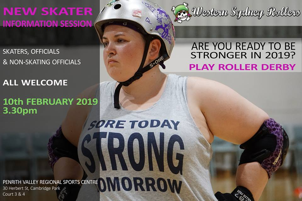 Skater with session info and motivational quote shirt