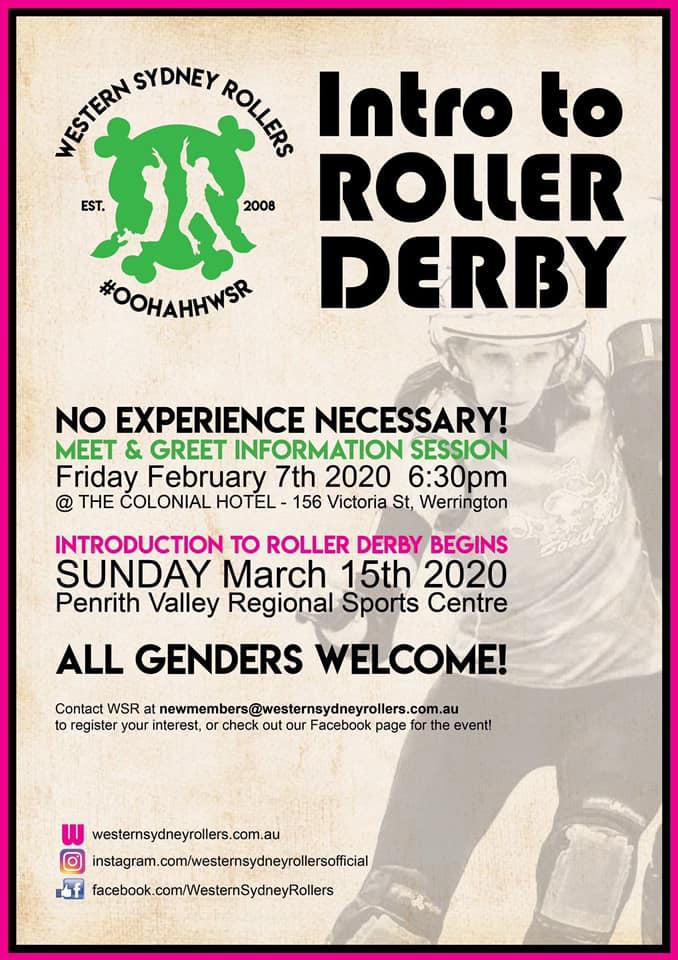 Roller derby information session